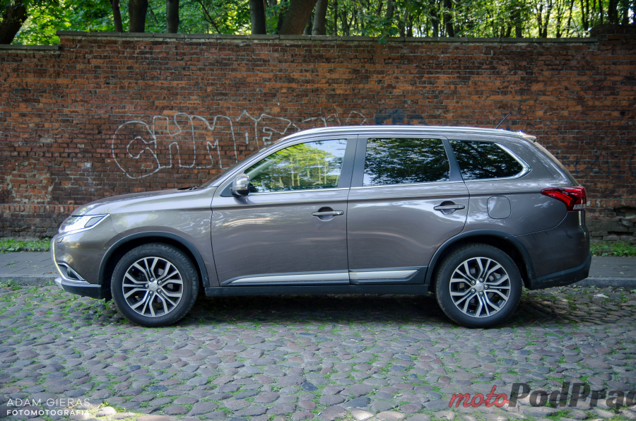 Mitsubishi Outla 18 Test: Mitsubishi Outlander 2.2 DID Intense Plus. Chcesz SUV a? No to masz!