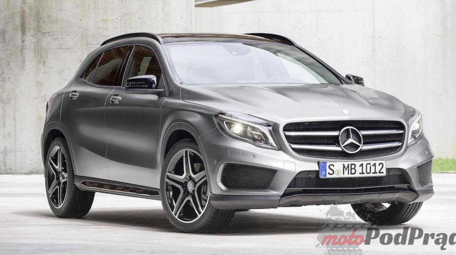 gla Minitest: Mercedes Benz GLA 250 4Matic   piękna zabawka, czy coś więcej?