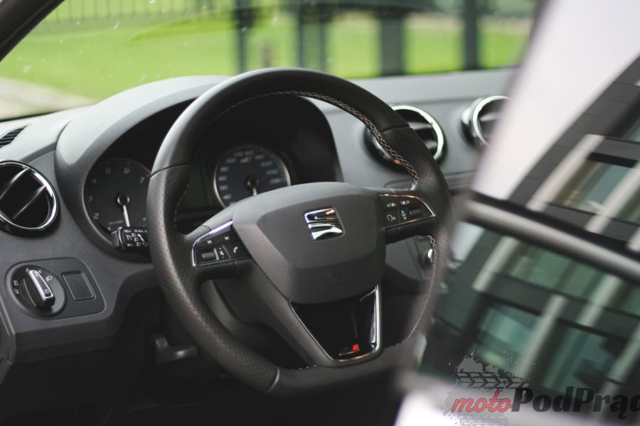 10a Test: Seat Ibiza Cupra 1.8 TSI. Trochę strachu.