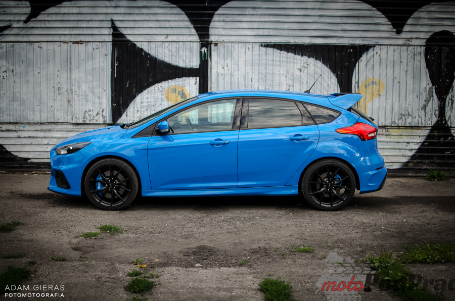 Ford Focus RS III 11 Test: Ford Focus RS   poczuj się jak Colin McRae