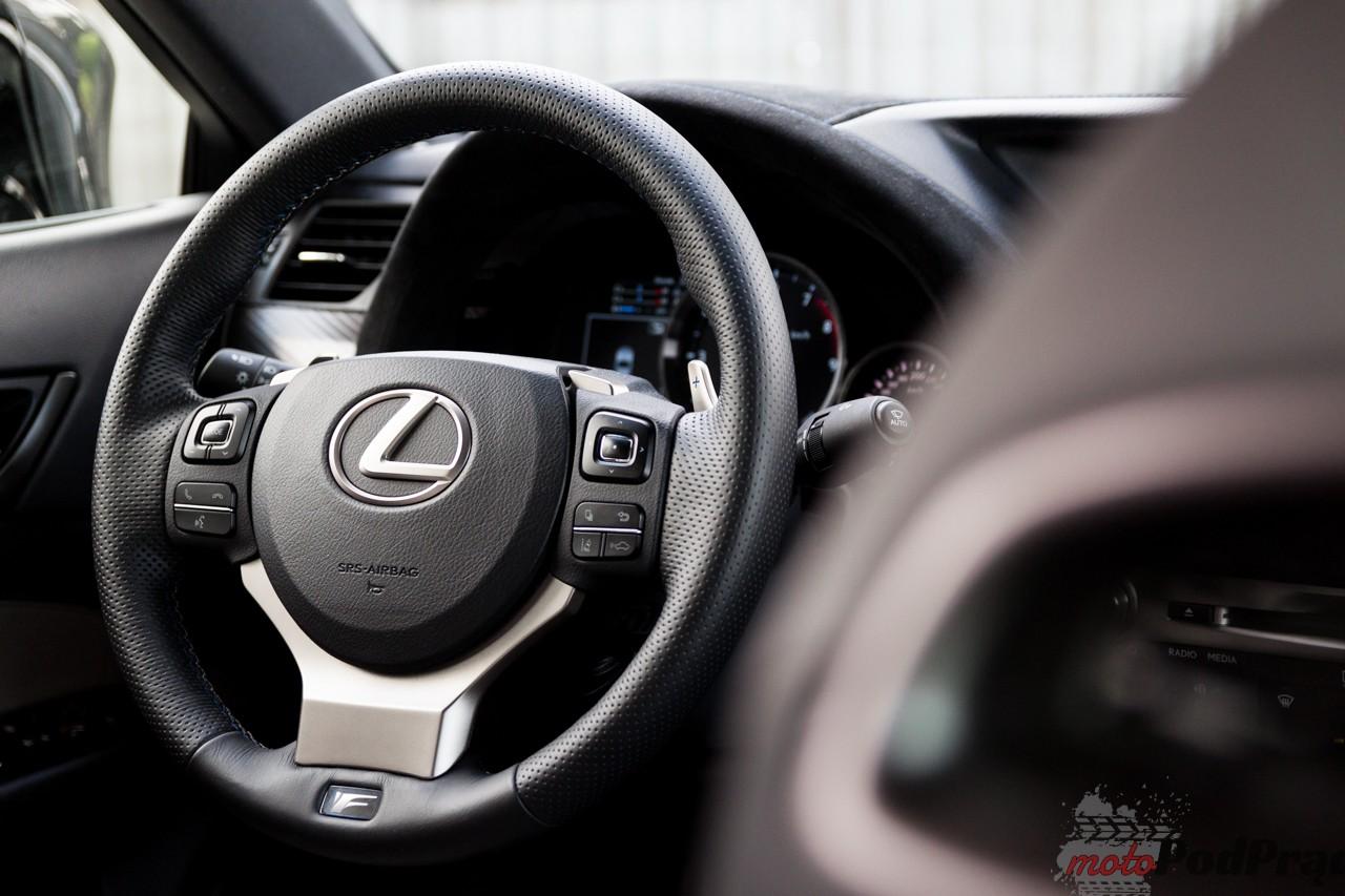 Lexus GS F 17 Test: Lexus GS F V8 477 KM   dwie twarze