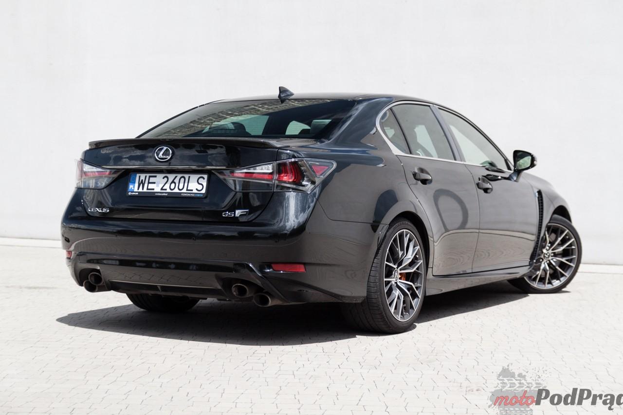 Lexus GS F 5 Test: Lexus GS F V8 477 KM   dwie twarze
