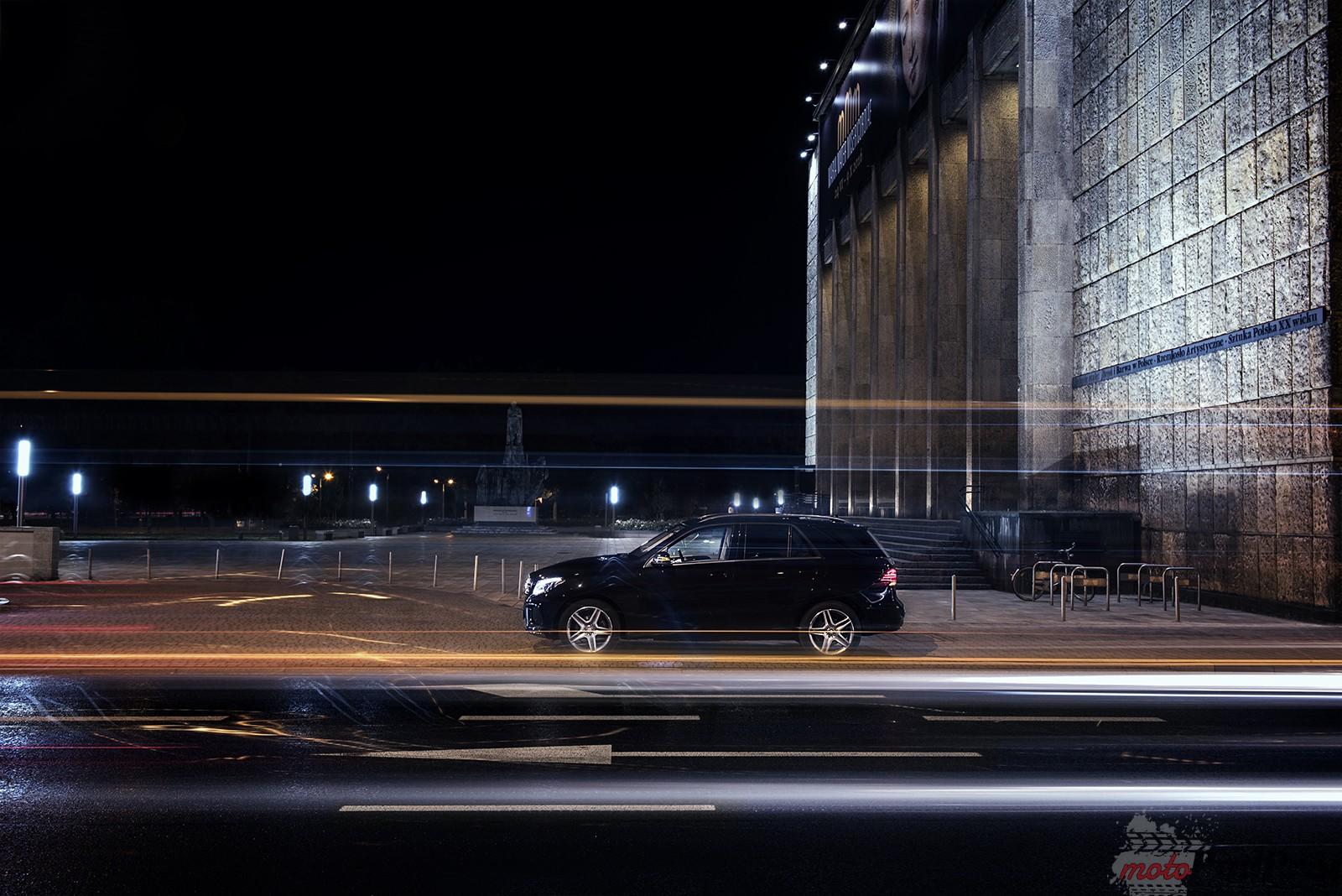 Mercedes Gle 350 D 2 Test: Mercedes GLE 350 D   lepszy po zmroku