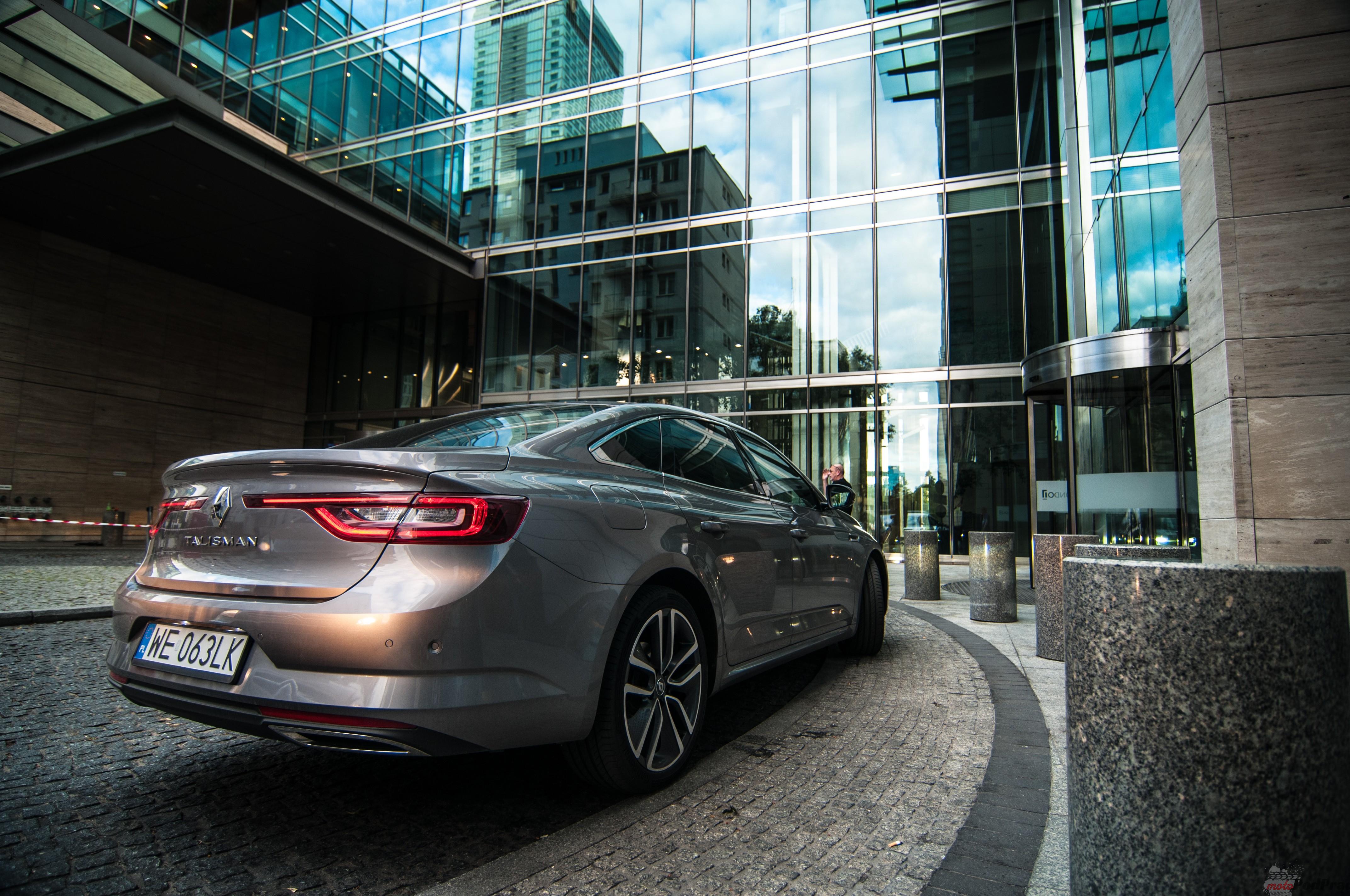 Renault Talisman 12 TEST: Renault Talisman 1.6 TCe INTENSE – firmowy reprezentant