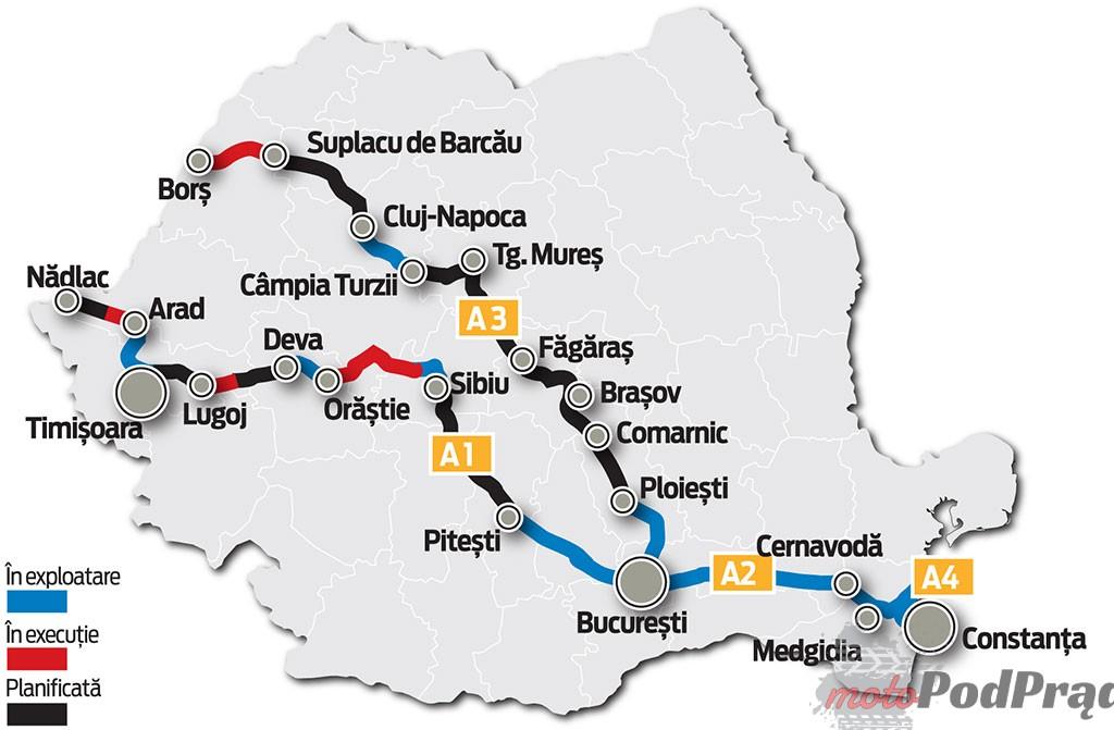 Rumunia Ile kosztują autostrady za granicą?