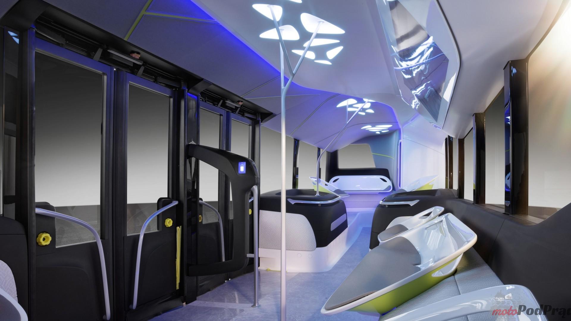 mercedes benz future bus Autonomiczny autobus Mercedesa