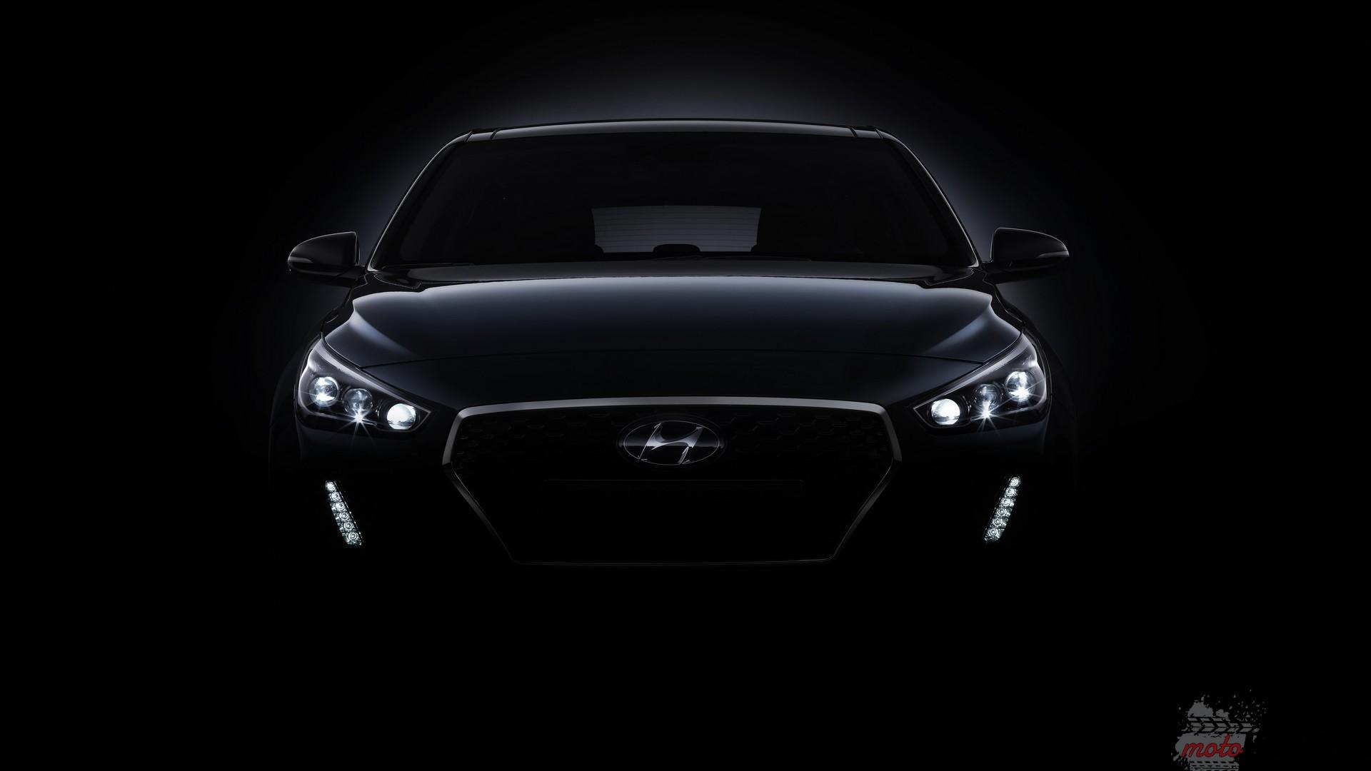 2017 hyundai i30 teaser Teasery Hyundaia i plotki na temat Forda