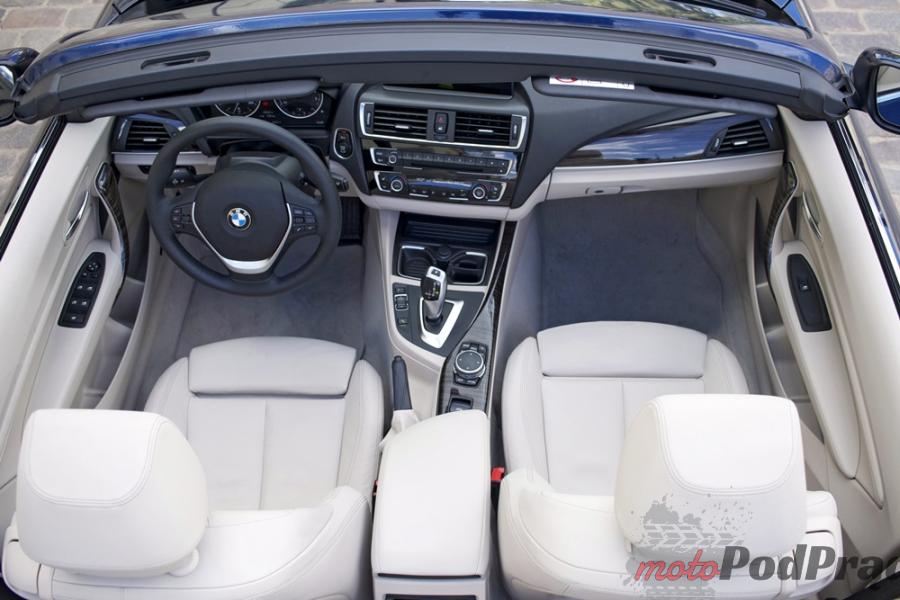BMW cabrio 14 Test: BMW 218i Kabrio Luxury Line   tylko lans, czy coś więcej?