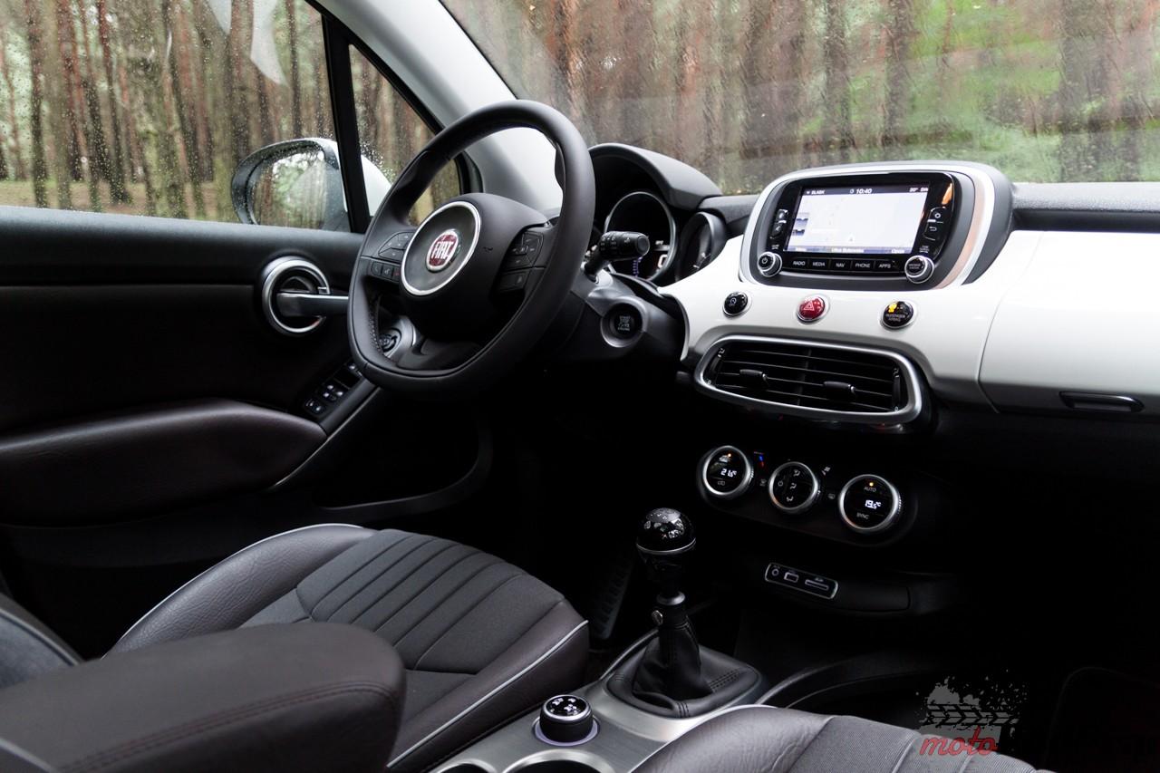 Fiat 500 X 19 Test: Fiat 500 X 1.4 140 KM   powiększony słodziak