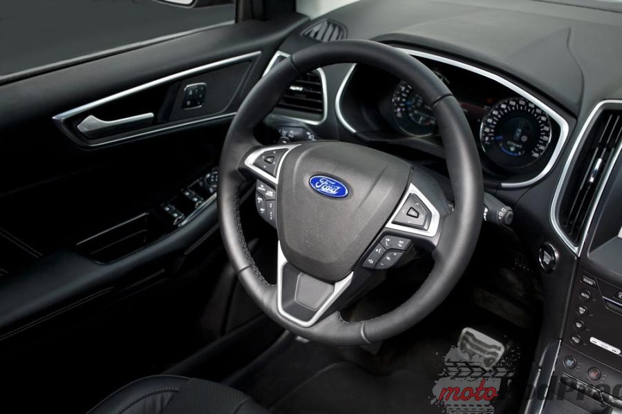 Ford Edge 2 Pierwsza jazda: Ford Edge 2.0 TDCi Twin turbo 210 KM
