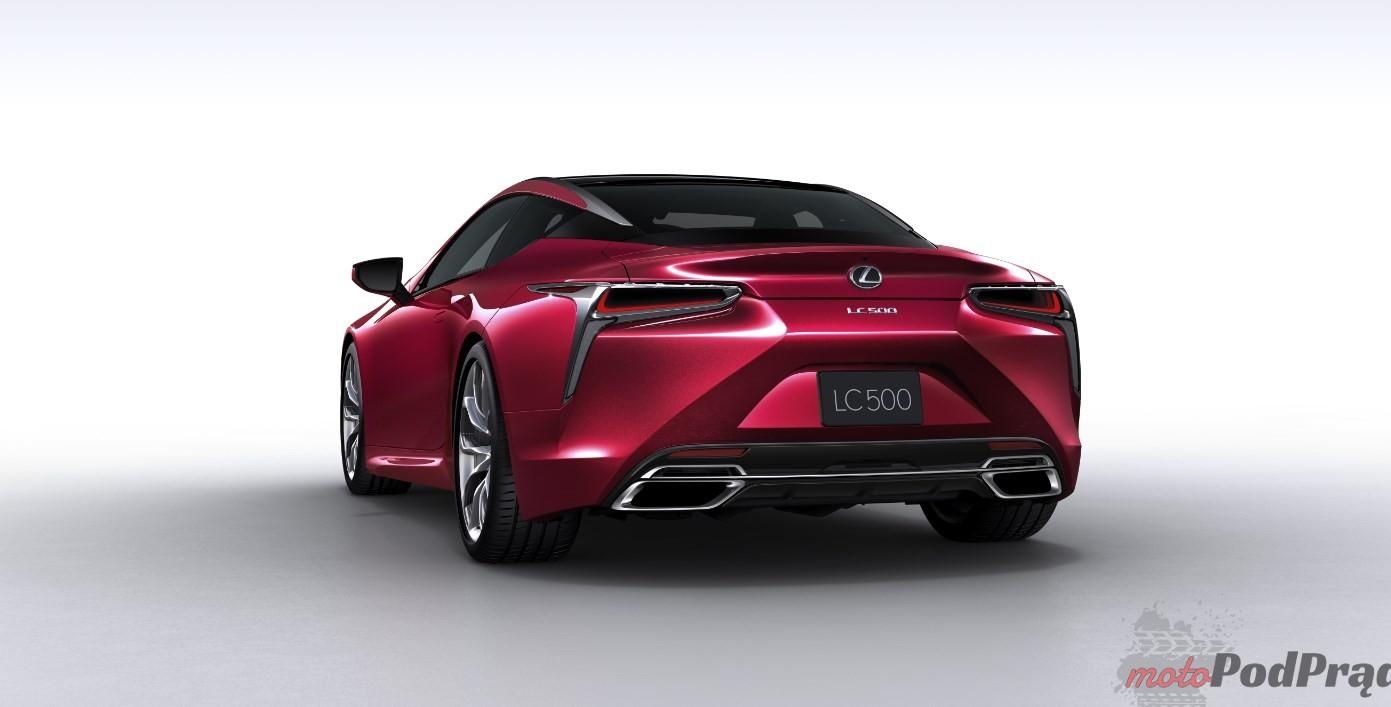 Lexus LC 500 1 W polskich salonach będzie można zobaczyć Lexusa LC