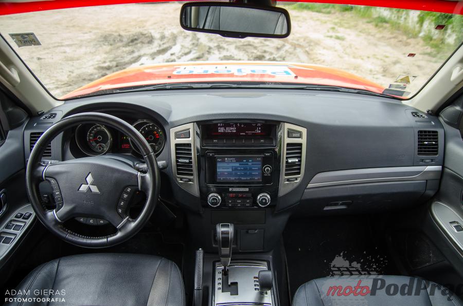 Mitsubishi Pajero 27 Mitsubishi Pajero 3.2 DID Instyle i bieszczadzkie wertepy   duet idealny!