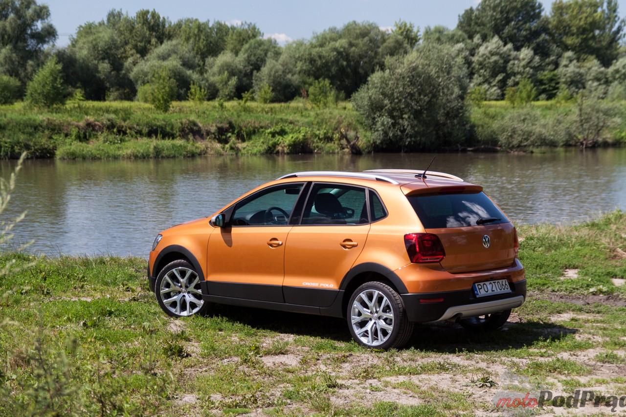 Volkswagen Cross Polo 3 Test: Volkswagen Cross Polo 1.2 110 KM   przeciera szlaki