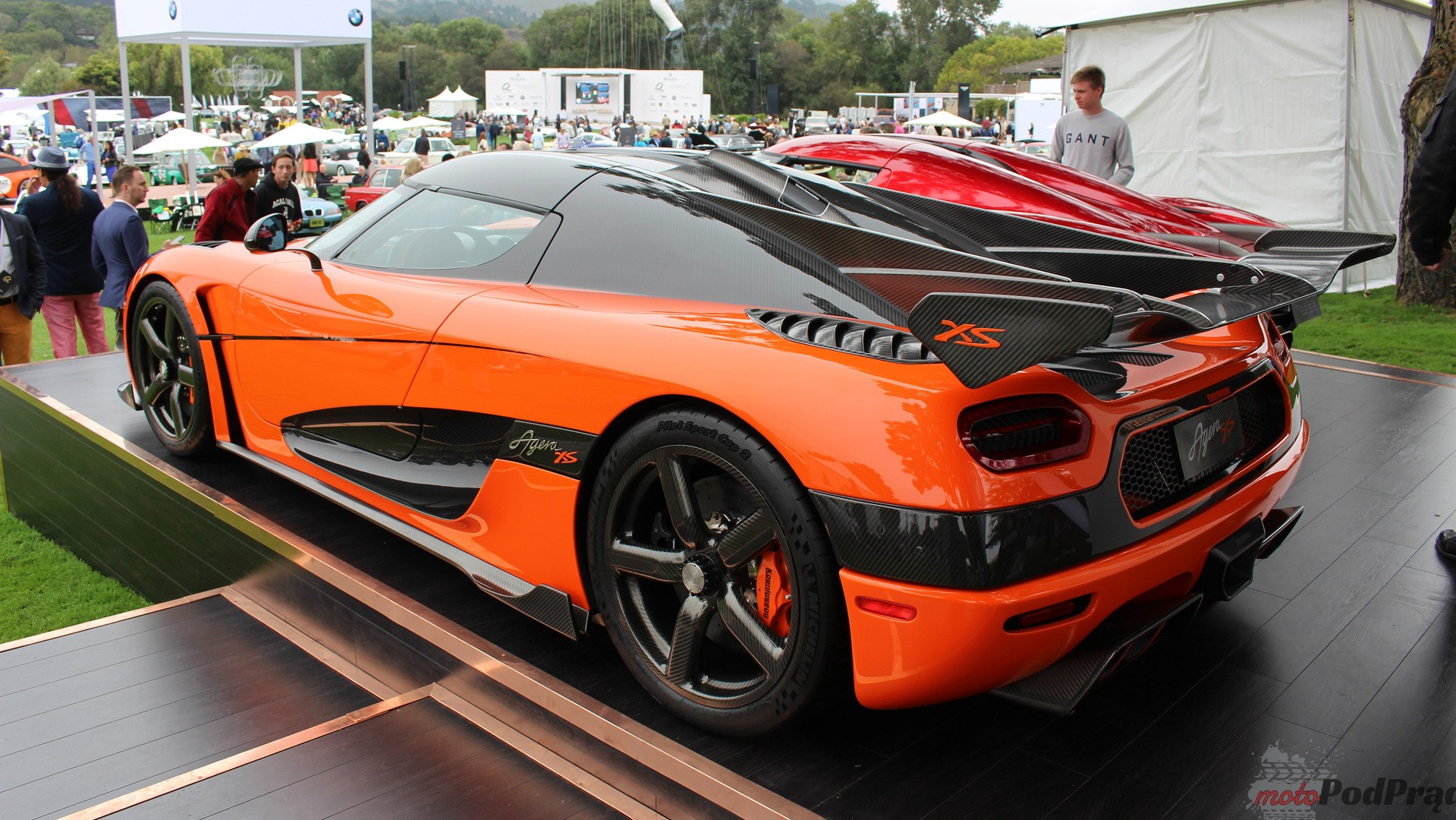 koenigsegg agera xs at the quail Premiery Pebble Beach Concours dElegance