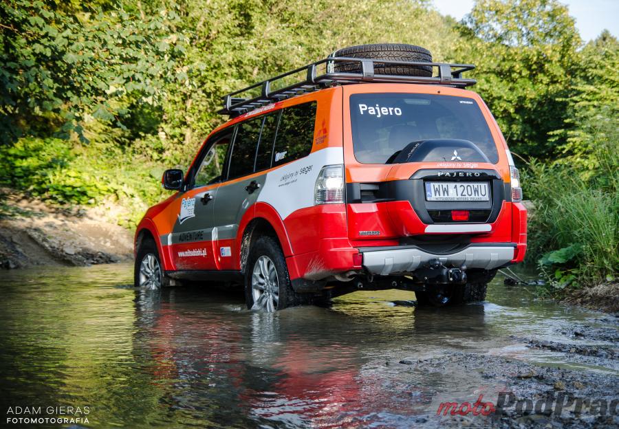 pajero w wodzie Mitsubishi Pajero 3.2 DID Instyle i bieszczadzkie wertepy   duet idealny!