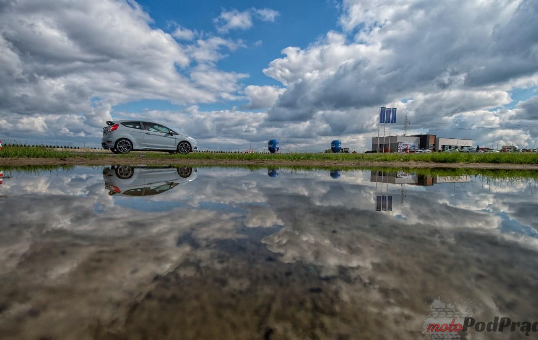 Ford Fiesta ST200 tor łódź 15 Ford Fiesta ST200   chwila za kierownicą