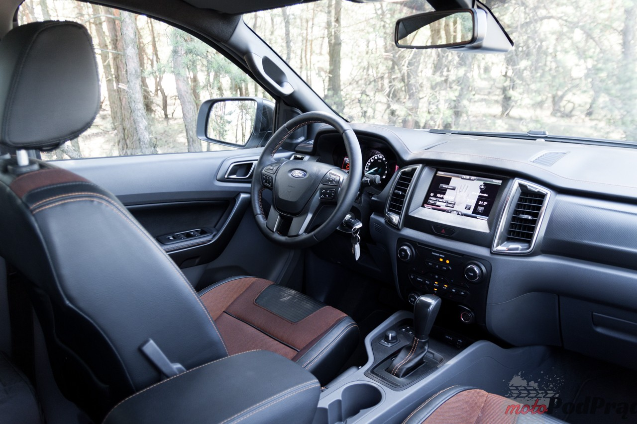 Ford Ranger 18 Test: Ford Ranger 3.2 Wildtrak   zmienia perspektywę świata