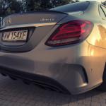 Mercedes C450 AMG 8 150x150 Test: Mercedes C450 AMG   lekko przykurzony mocarz