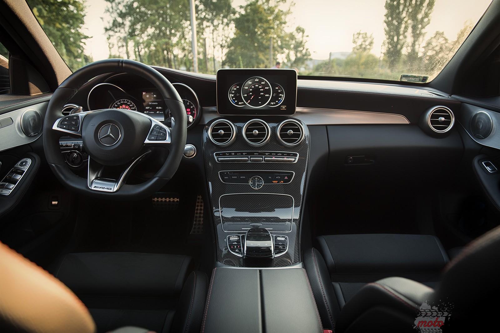 Mercedes C450 AMG 9 Test: Mercedes C450 AMG   lekko przykurzony mocarz