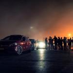 Mercedes c450 nocą 150x150 Test: Mercedes C450 AMG   lekko przykurzony mocarz