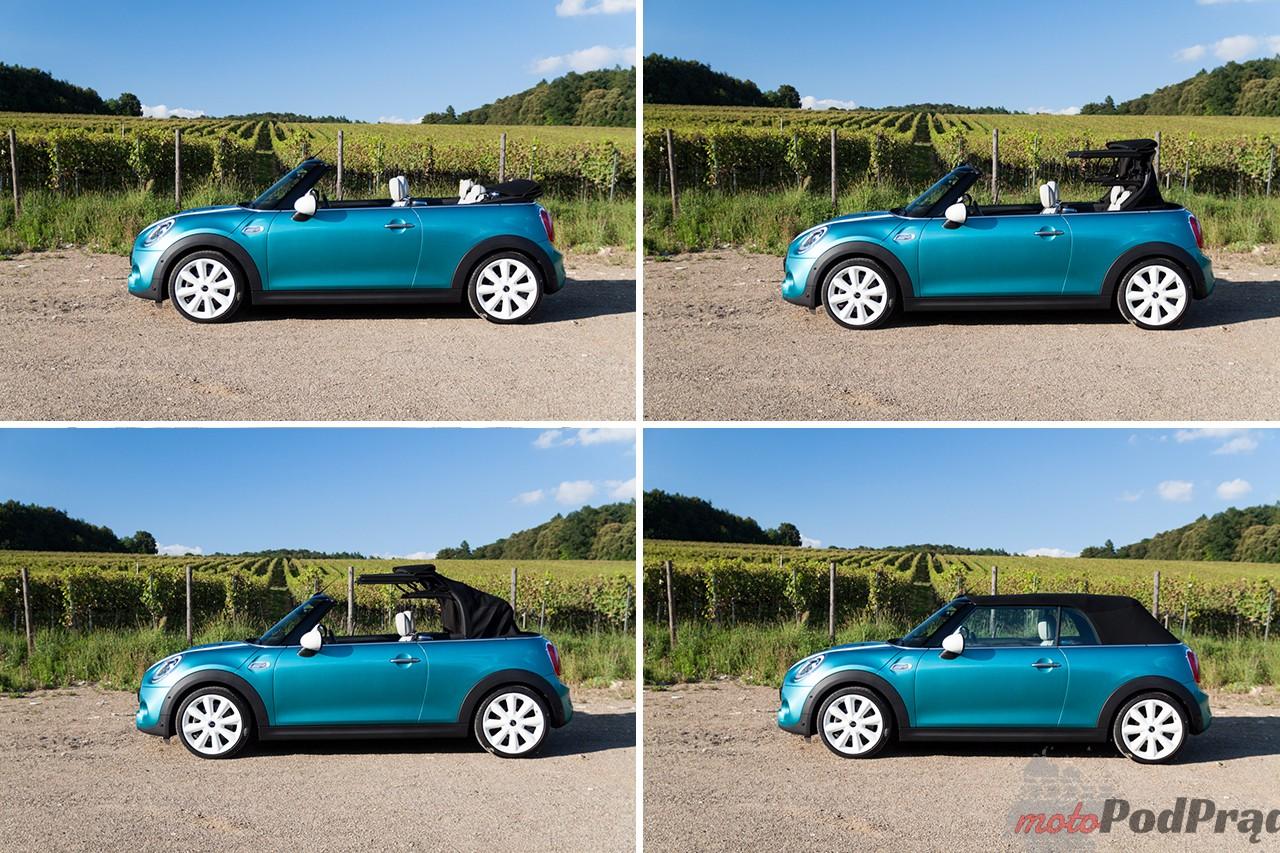 Mini cooper S cabrio 19 Test: Mini Cooper S Cabrio   typowy funcar