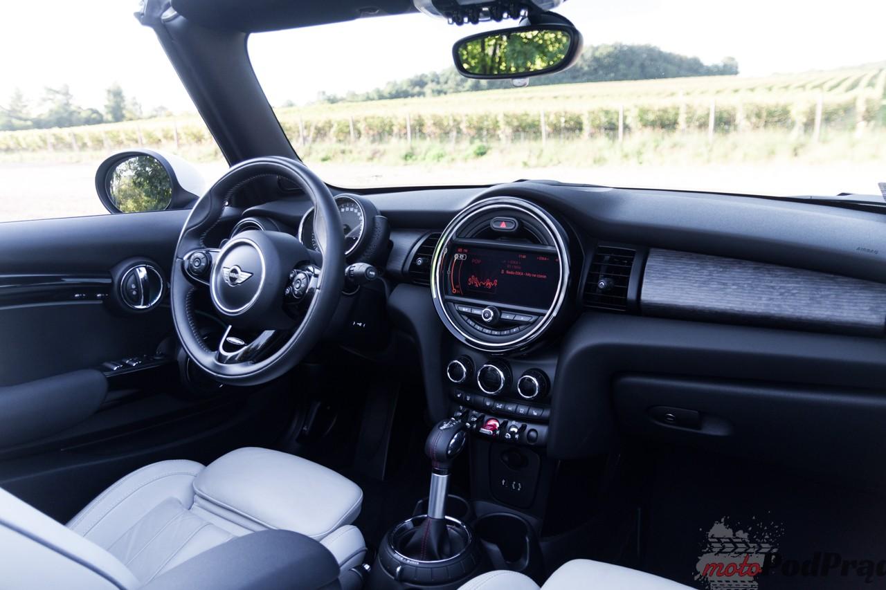 Mini cooper S cabrio 4 Test: Mini Cooper S Cabrio   typowy funcar