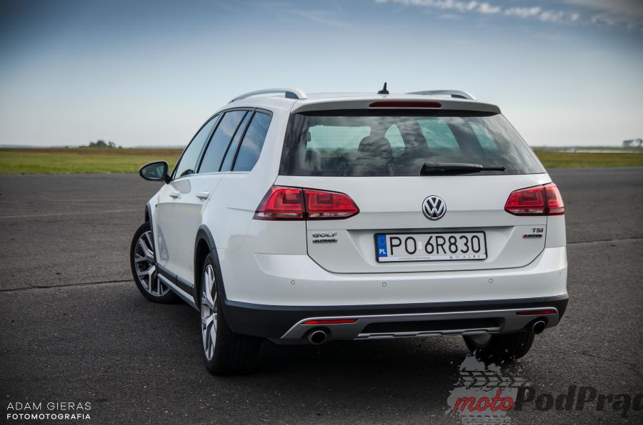 VW Golf 12 Test: Volkswagen Golf Alltrack 1.8 TSI 4MOTION   zadowoli niejednego kierowcę