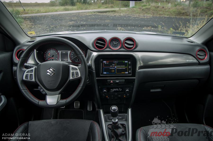 DSC 0022 Test: Suzuki Vitara 1.4 BoosterJet S AllGrip   crossover prawie bez wad