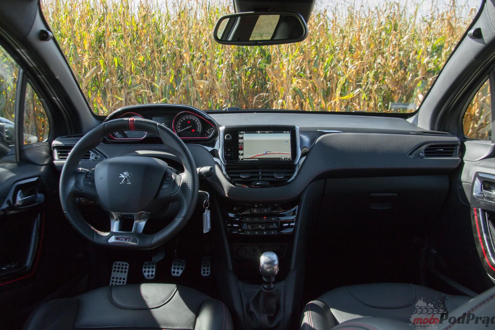 Peugeot 208 gti 20 Test: Peugeot 208 GTi    miejski rozrabiaka