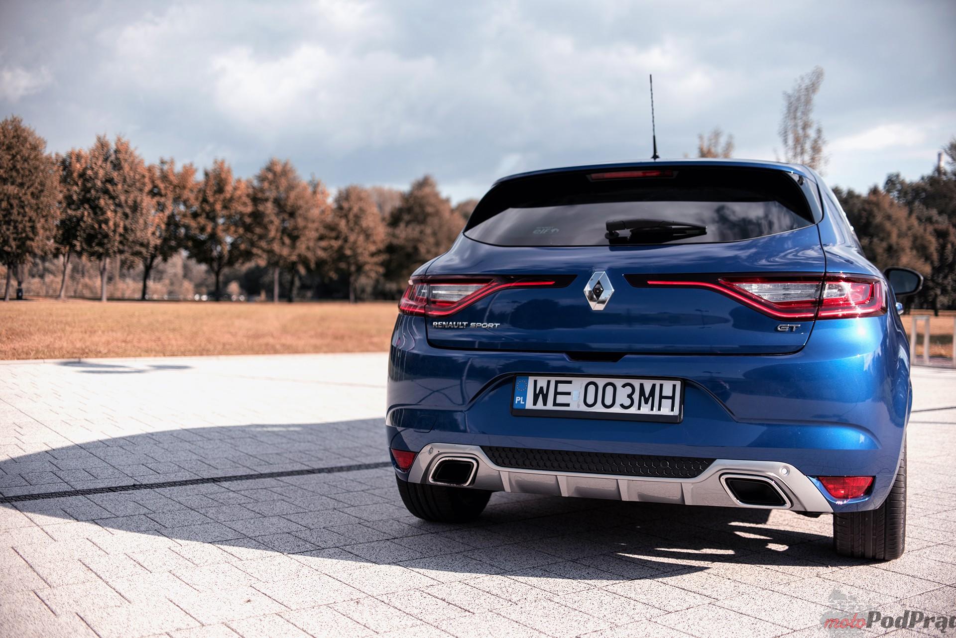 Renault Megane GT 10 Test: Renault Megane GT   cieplejszy kompakt
