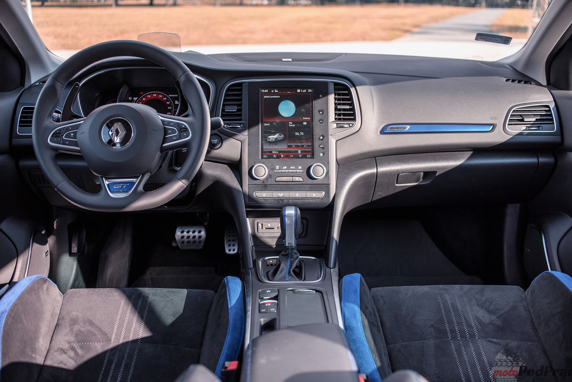 Renault Megane GT 18 Test: Renault Megane GT   cieplejszy kompakt