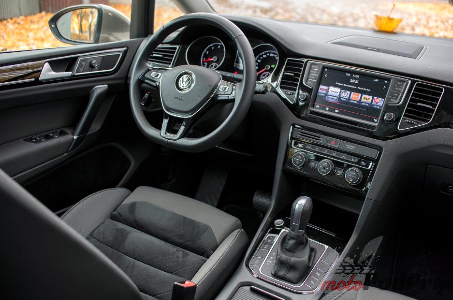 Vw golf sportsvan 19 Test: Volkswagen Golf Sporstvan   Papież nie mógł się pomylić!