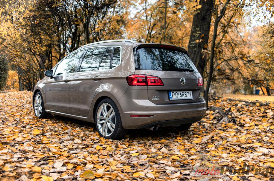 Vw golf sportsvan 7 Test: Volkswagen Golf Sporstvan   Papież nie mógł się pomylić!