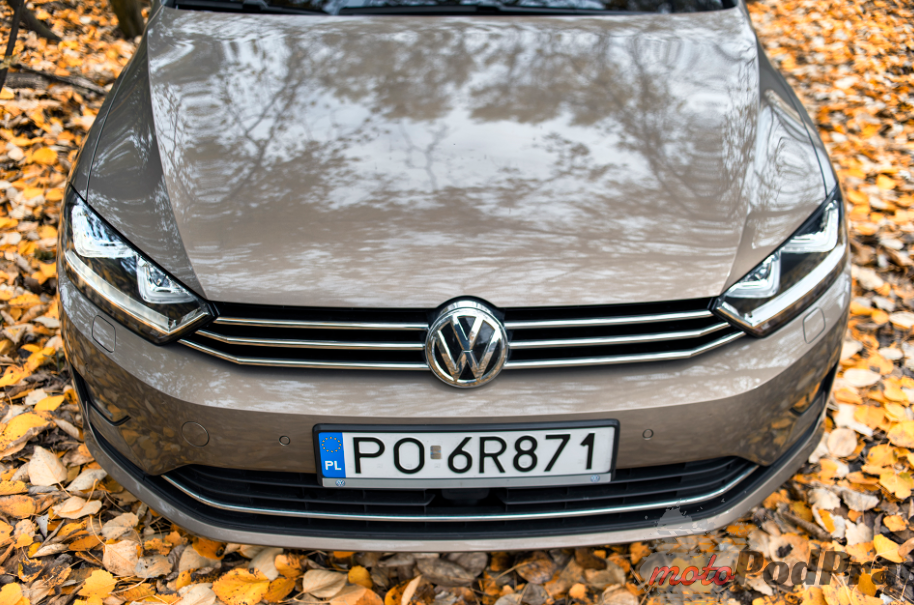 Vw golf sportsvan 9 Test: Volkswagen Golf Sporstvan   Papież nie mógł się pomylić!