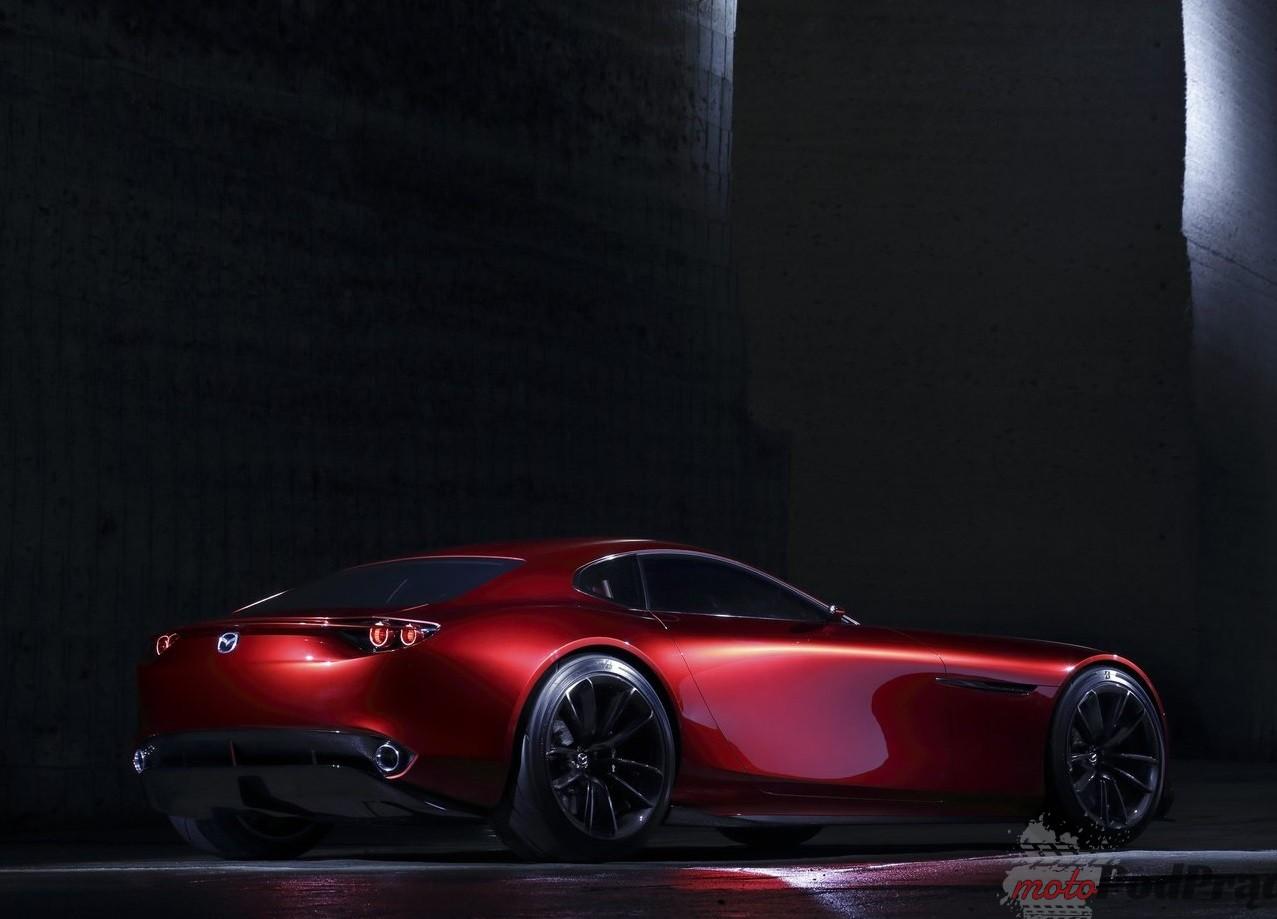 Mazda RX Vision Concept 2015 1280 08 Pierwsza elektryczna Mazda w 2019
