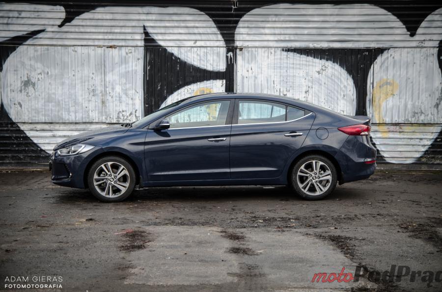 Nowa Elantra 1 Test: Hyundai Elantra 1.6 128 KM   idealny na daily?