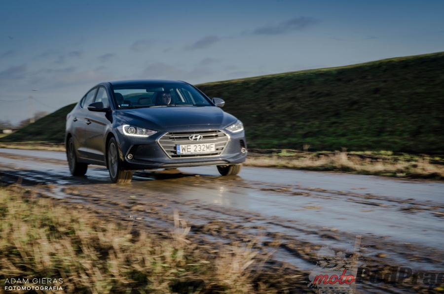 Nowa Elantra 7 Test: Hyundai Elantra 1.6 128 KM   idealny na daily?