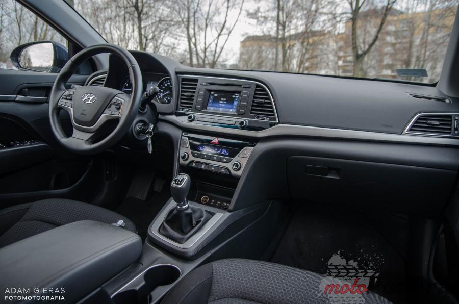 Nowa Elantra 8 Test: Hyundai Elantra 1.6 128 KM   idealny na daily?