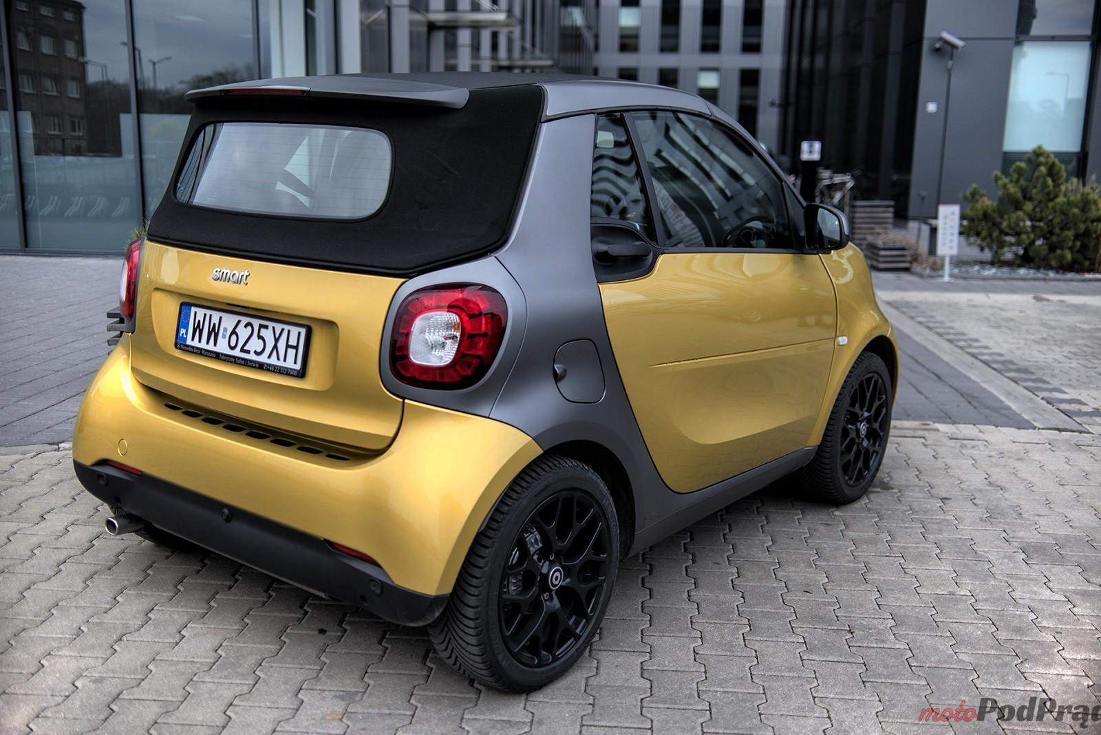 Smart ForTwo Cabrio 13 Test: Smart ForTwo Cabrio   zaskakuje na każdym kroku