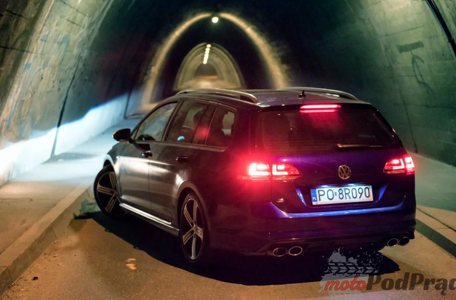 VW golf R 15 Test: Volkswagen Golf R Variant   niecodzienne kombi