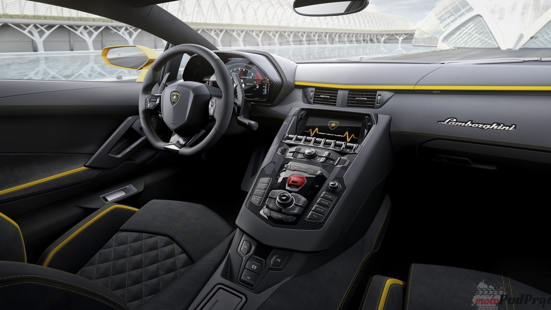 2017 lamborghini aventador s 1 Poprawić doskonałość: Lamborghini Aventador S
