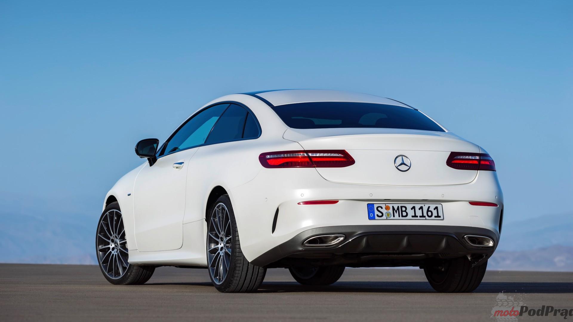 2018 mercedes benz e class coupe 2 Mercedes Benz E Coupe: brak niespodzianek