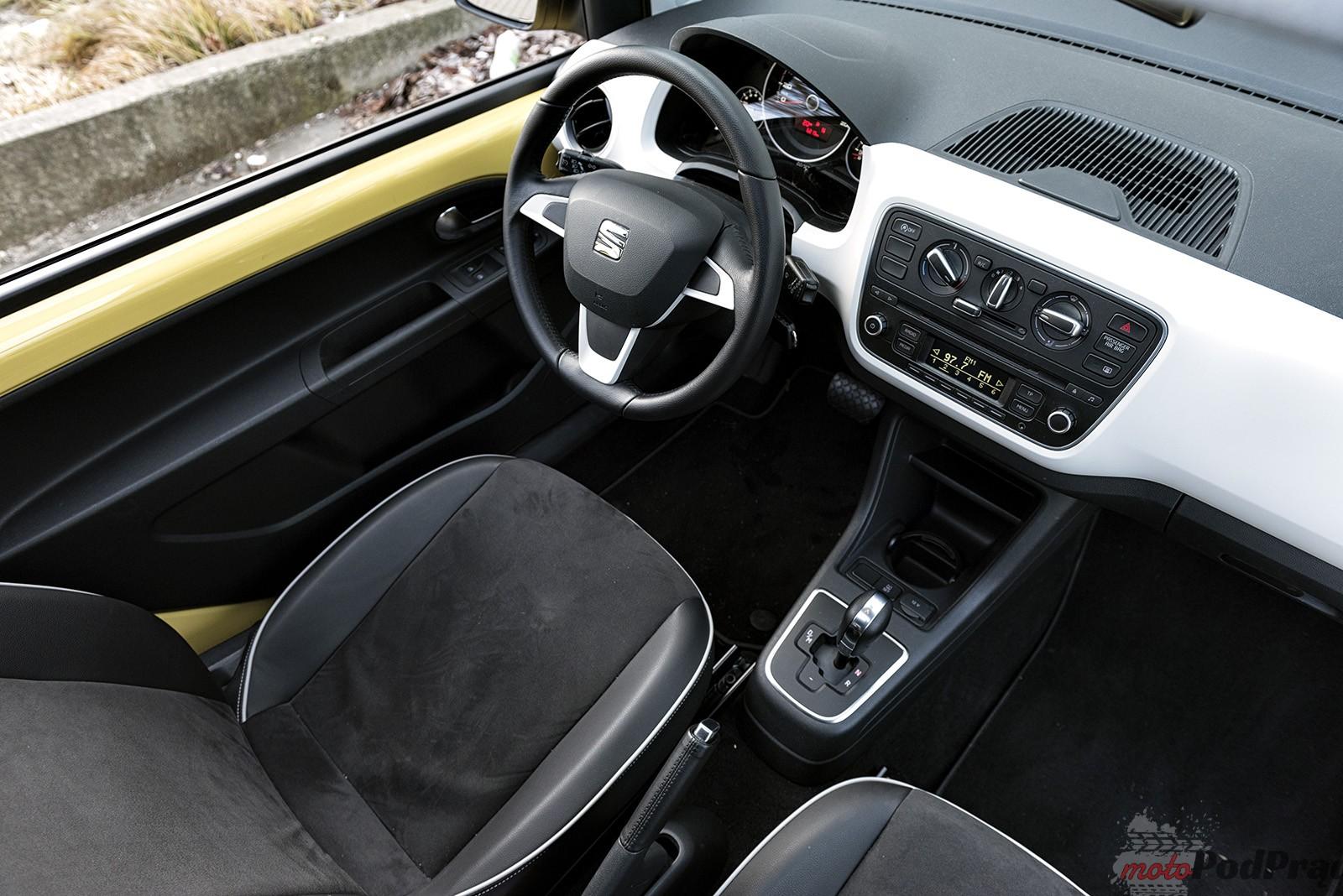 Seat Mii 18 Test: Seat Mii   żółty bzyk