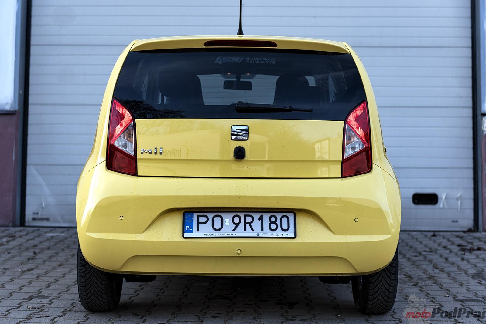 Seat Mii 7 Test: Seat Mii   żółty bzyk