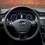 passat gte kierownica 150x150 Test: Volkswagen Passat GTE. Kwestie wizerunkowe.