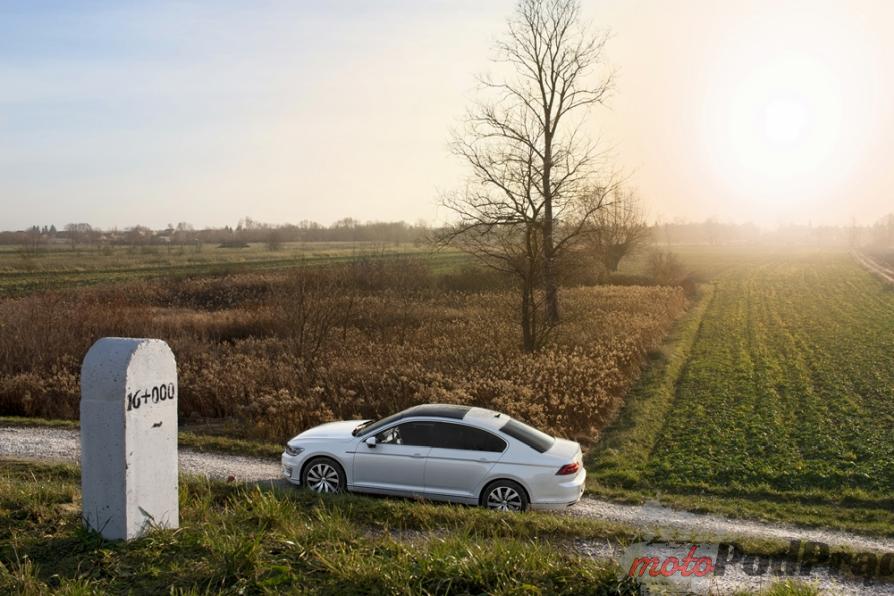 passat gte widok Test: Volkswagen Passat GTE. Kwestie wizerunkowe.