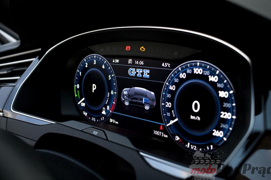 passat gte zegary Test: Volkswagen Passat GTE. Kwestie wizerunkowe.