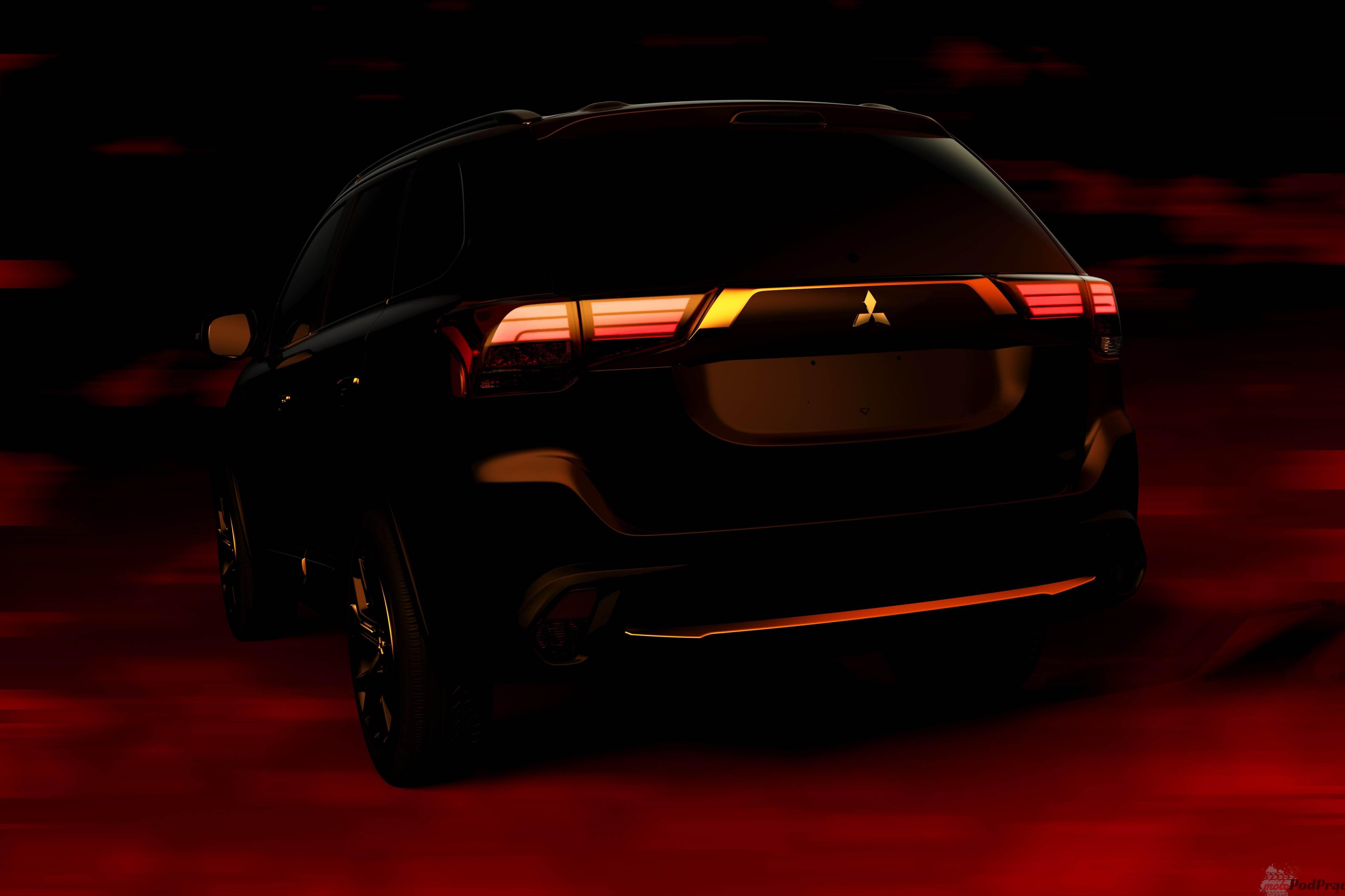 2016 Mitsubishi Outlander Rear Nowy Outlander już w kwietniu