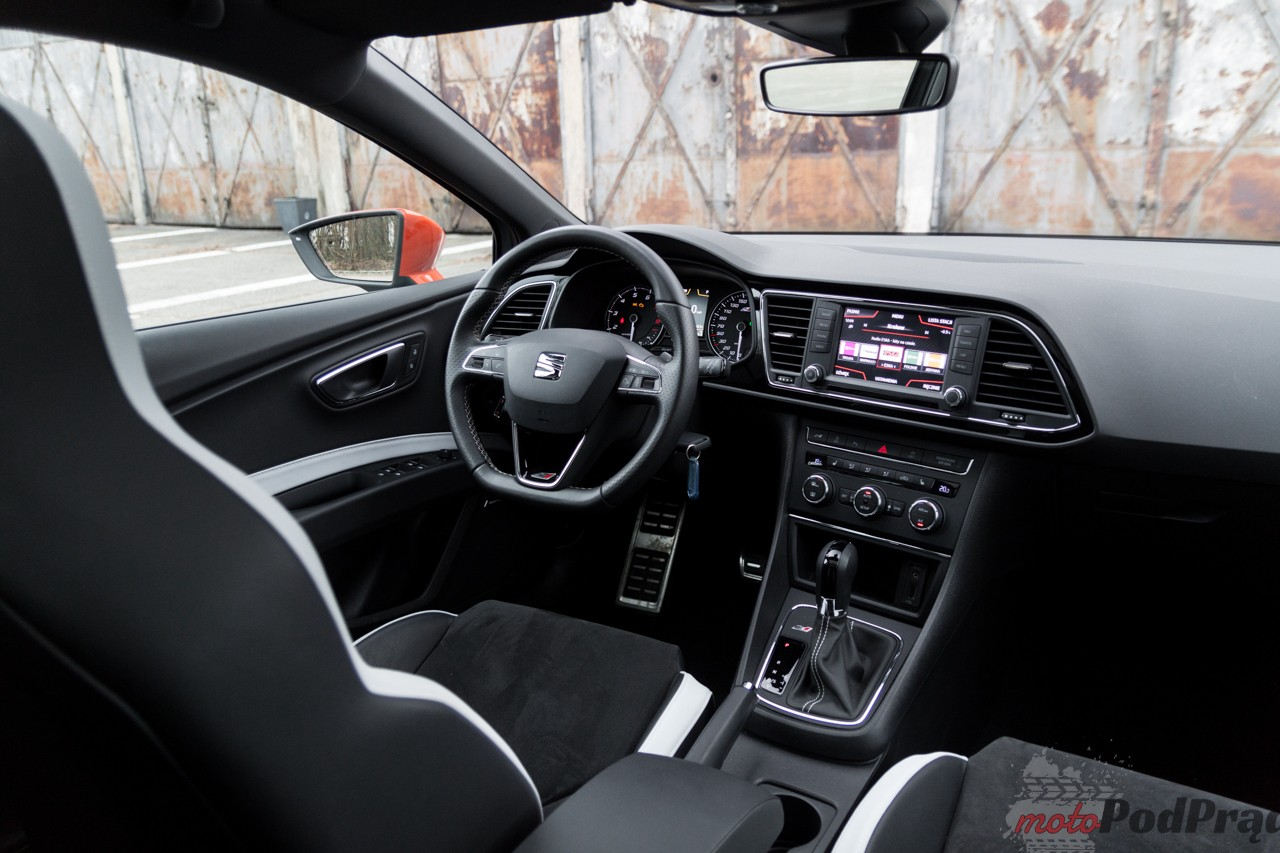 Seat Leon Cupra ST 290 12 Test: Seat Leon Cupra ST   niech moc będzie z Wami