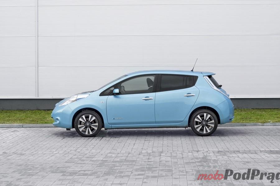 nissan leaf bok Test: Nissan Leaf   recepta na smog?